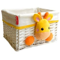 Fisher price koszyk wiklinowy żyrafa 30x25x20 cm (8430957100775)