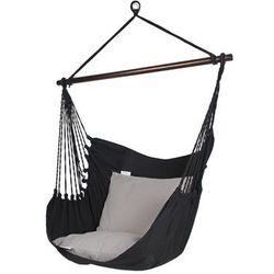 Fotel hamakowy szeroki, Czarny HC10