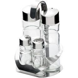 Zestaw 4-elementowy do przypraw (sól, pieprz, olej, ocet) | , 362004 marki Stalgast