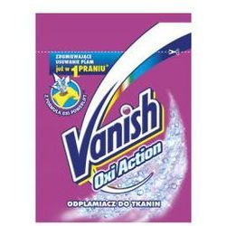 Odplamiacz do tkanin Vanish Oxi Action 30 g - oferta [0505652ab50584fa]