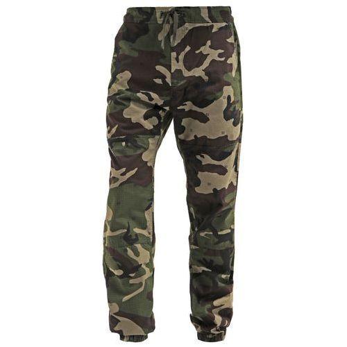 Carhartt WIP MARSHALL COLUMBIA Spodnie materiałowe camo/green rinsed - produkt dostępny w Zalando.pl