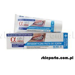 Alfa Ortho Noc pasta ortodontyczna 75 ml - asortyment ortodontyczny - produkt z kategorii- Pozostałe środki