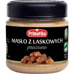 - masło z orzechów laskowych prażone 185g, marki Primavika