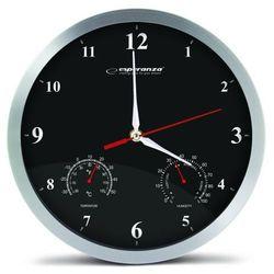 zegar ścienny washington czarny (ehc008k) szybka dostawa! darmowy odbiór w 21 miastach! marki Esperanza