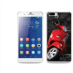 Foto Case - Huawei Honor 6 Plus - etui na telefon Foto Case - czerwony skuter - sprawdź w wybranym sklepie