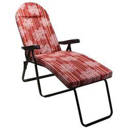Leżak ogrodowy YEGO Aruba Deckchair 4105-3 - sprawdź w wybranym sklepie