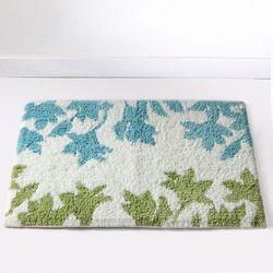 La redoute interieurs Dywanik łazienkowy w kwiatowy wzór, 1700g/m², garden, kategoria: dywaniki łazienkowe