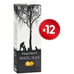 12x1l sok z brzozy o smaku cytryny litewski | darmowa dostawa od 200 zł wyprodukowany przez Magnum
