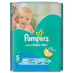 pieluchy active baby dry 5 junior (42 szt.) wyprodukowany przez Pampers