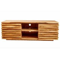 Invicta szafka pod telewizor relief - 150 cm, drewno naturalne marki Sofa.pl