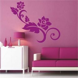 Deco-strefa – dekoracje w dobrym stylu Kwiaty 52 szablon malarski