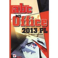 ABC MS Office 2013 PL (ISBN 9788324675395)