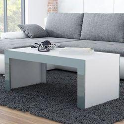 High glossy furniture Stolik kawowy tucson 120 - biały   szary