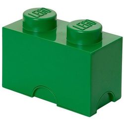 POJEMNIK LEGO 2 CIEMNOZIELONY - LEGO POJEMNIKI, 0249