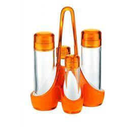 Zestaw na przyprawy Mirage, pomarańczowy - pomarańczowy