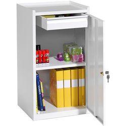 Szafka warsztatowa SERVE, szuflada, 900x500x450 mm, biały, 202742