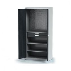 Szafa warsztatowa - 3 półki, 2 szuflady marki B2b partner