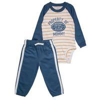 Carter's STRIPE SPORT PATCH SET Body blue