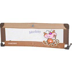 Barierka ochronna do łóżka Caretero SAFARI (Brown)