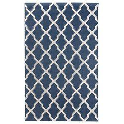 dywan cottage blue/ wool 160x230cm, 160 × 230 cm marki Dekoria