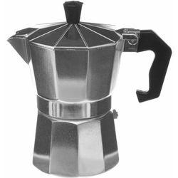 Kawiarka ciśnieniowa do domowego espresso, aluminiowa, kolor srebrny (3560234511194)
