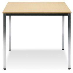 Nowy styl Stół simple 80x80 alu