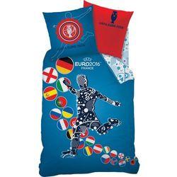 Pościel UEFA EURO 2016 140x200 cm z kategorii komplety pościeli dla dzieci