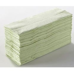 Tork Ręczniki składane, lignina, zielony, opak.: 2400 ręczników. higieniczne i wydajn