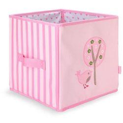 Penny scallan design Składane pudło różowe w ptaszki penny scallan