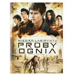 Więzień labiryntu: Próby ognia (DVD) + Książka - produkt z kategorii- Filmy przygodowe