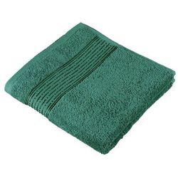 ręcznik kamilka pasek ciemnozielony, 50 x 100 cm od producenta Bellatex