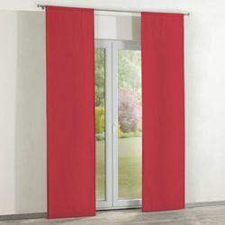 Dekoria Zasłony panelowe 2 szt., czerwony, 60 x 260 cm, Quadro
