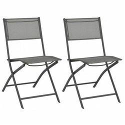 Składane krzesła ogrodowe Nilla - 2 szt.