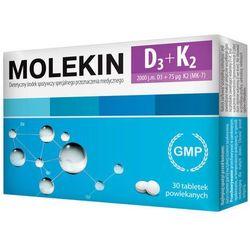 Molekin D3 + K2 30 tabletek, produkt z kategorii- Witaminy i minerały