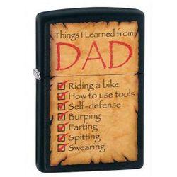 Zippo Zapalniczka 28372 Things Learned from Dad - sprawdź w wybranym sklepie