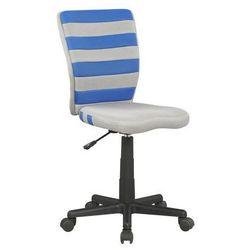 Fotel młodzieżowy obrotowy fuego niebieski marki Halmar