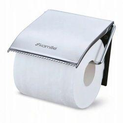 Pojemnik - uchwyt papieru toaletowego z klapką DUO 8819, 8462-3103C_20200213174403