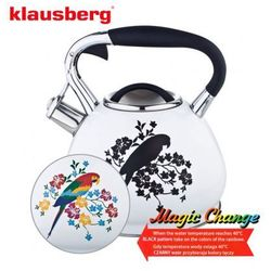 Klausberg Czajnik stalowy magic change 2.7l [kb-7251] (5902666612519)