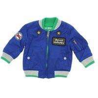 Diesel  kurtka dziecięca niebieski zielony 6 miesięcy
