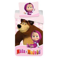 pościel dziecięca masza i niedźwiedź 02, 140 x 200 cm, 70 x 90 cm marki Jerry fabrics