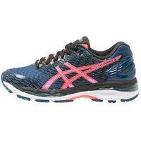 ASICS GELNIMBUS 18 Obuwie do biegania treningowe poseidon/flash coral/black z kategorii obuwie do biegania