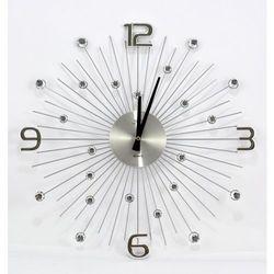Zegar ścienny JVD HT074 średnica 48,5 cm, kolor czerwony