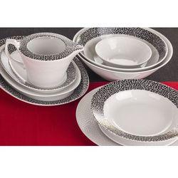Chodzież venus black & white serwis obiadowy 44/12 k244 marki Chodzież / venus