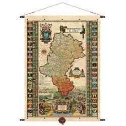 Województwo śląskie mapa ścienna 68,5x98,5 cm Pergamena z kategorii mapy