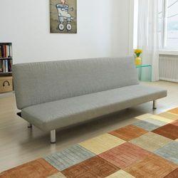vidaXL Sofa kanapa rozkładana, ciemnoszara - sprawdź w wybranym sklepie