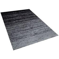 Dywan krótkowłosy czarny 140 x 200 cm KATERINI