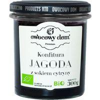 Owocowy dom (konfitury, dżemy) Konfitura jagoda z sokiem z cytryny bio 300 g - owocowy dom