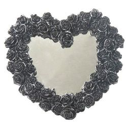 Lustro w kształcie serca z różami (wu75888vb) marki Veronese