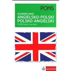 PONS. Słownik mini angielsko-polski, polsko-angielski (rok 2014), książka w oprawie miękkej