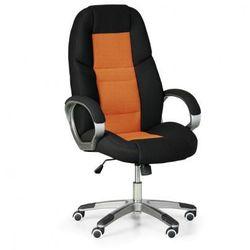 Krzesło biurowe Kevin, pomarańczowy